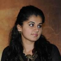 Taapsee at Sahasam Success Meet Photos | Picture 513139