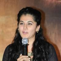 Taapsee at Sahasam Success Meet Photos | Picture 513140