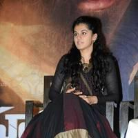Taapsee at Sahasam Success Meet Photos | Picture 513144