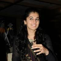 Taapsee at Sahasam Success Meet Photos | Picture 513145