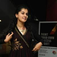 Taapsee at Sahasam Success Meet Photos | Picture 513146