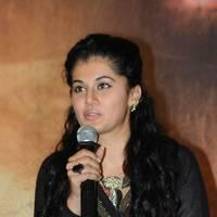 Taapsee at Sahasam Success Meet Photos | Picture 513148