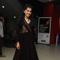 Taapsee at Sahasam Success Meet Photos | Picture 513150