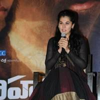 Taapsee at Sahasam Success Meet Photos | Picture 513154