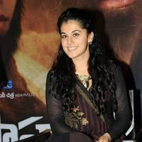 Taapsee at Sahasam Success Meet Photos | Picture 513156