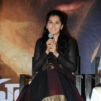 Taapsee at Sahasam Success Meet Photos | Picture 513157