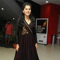 Taapsee at Sahasam Success Meet Photos | Picture 513159