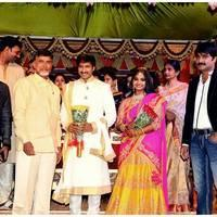 Gopichand Wedding Reception Photos