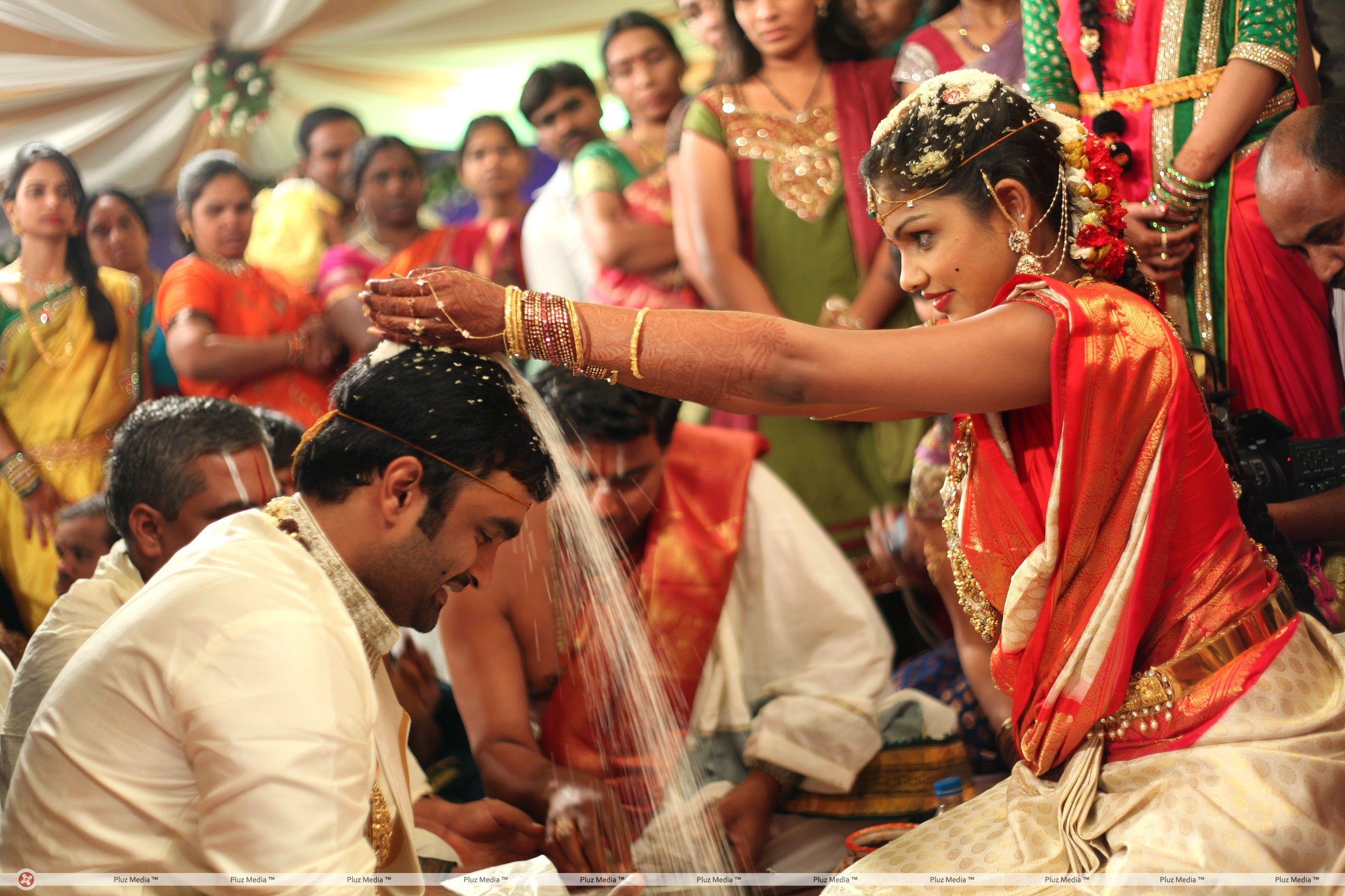 Brahmanandam Son Gautam Wedding Stills