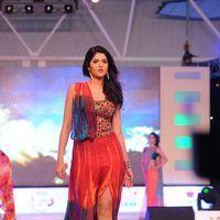 Deeksha Seth - Heroines Ramp Walk at South Spin Fashion Awards Stills