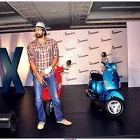 Rana Daggubati - Rana Daggubati Launches Vespa VX Bike Photos | Picture 507073