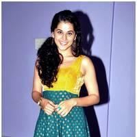 Taapsee Pannu - Gopichand and Taapsee @ Sahasam Show to School Students Photos | Picture 512375