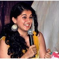 Taapsee Pannu - Gopichand and Taapsee @ Sahasam Show to School Students Photos | Picture 512377