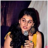 Taapsee Pannu - Gopichand and Taapsee @ Sahasam Show to School Students Photos | Picture 512387