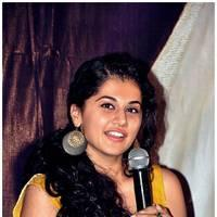 Taapsee Pannu - Gopichand and Taapsee @ Sahasam Show to School Students Photos | Picture 512388