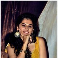 Taapsee Pannu - Gopichand and Taapsee @ Sahasam Show to School Students Photos | Picture 512409