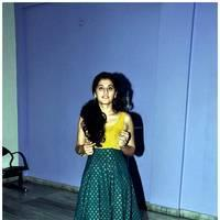 Taapsee Pannu - Gopichand and Taapsee @ Sahasam Show to School Students Photos