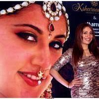 Actress Pooja Mishra at Big Fat Wedding Fair 2013 Curtain Raiser Photos | Picture 513405