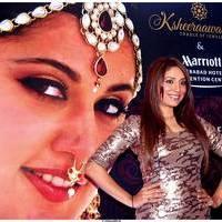 Pooja Misrra - Actress Pooja Mishra at Big Fat Wedding Fair 2013 Curtain Raiser Photos | Picture 513408