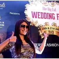 Pooja Misrra - Actress Pooja Mishra at Big Fat Wedding Fair 2013 Curtain Raiser Photos | Picture 513413