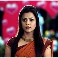 Nisha Agarwal Hot Saree Stills in Saradaga Ammayilatho Movie
