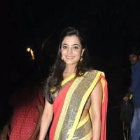 Nisha Agarwal Saree Photos at DK Bose Audio Release | Picture 453239