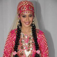 Hrishitaa Bhatt - Hrishita Bhatt on location of her film Amma Ki Boli - Stills