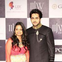 Ayushman Khurana - Ayushman Khurana and Models walking the ramp on Day 2 at IIJW  - Stills