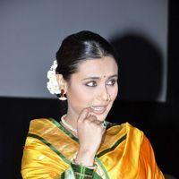Rani Mukerji - Rani Mukherji and Anurag Kashyap At First look Launch Of AIYYA - Photos