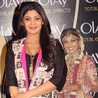 Shilpa Shetty - Shilpa Shetty At Press Interaction Organised By OLAY - Photos