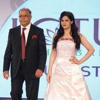 Zareen Khan - Zarine Khan At The Launch Of Pure Stay - Stills