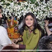 Shilpa Shetty - Salman, Shilpa And Govinda at Ganpati Visarjan - Photos
